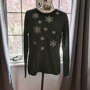 NWT Croft & Barrow Snowflake Sweater